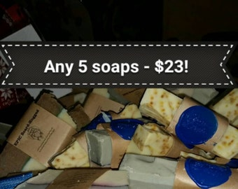Choose any 5 soaps!