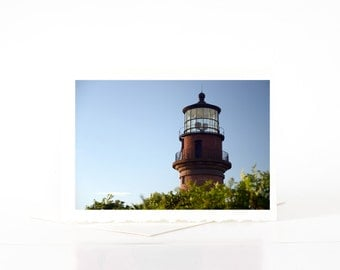 Aquinnah Lighthouse, Blank Photo Greeting Cards, Card Sets, Martha's Vineyard Photography