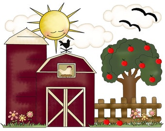 farm nursery decor | etsy