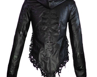 "Laura Diamond "" distressed jacket"""