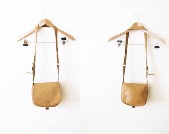 Leather Crossbody Purse / Saddle Bag / Brown Leather Cross body Bag / Bohemian Bag