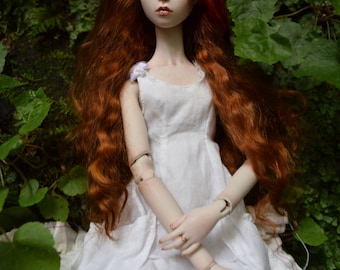 BJD Porcelain Ball-Jointed Doll, Handmade OOAK Art Doll by Higher Delights