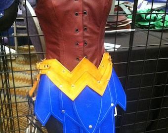 Wonder Woman Battle Skirt