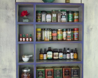 Kitchen Storage Cabinet-Rustic Wall Cabinet - Handmade Rustic Furniture - MADE to ORDER