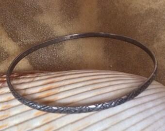 SALE - Lovely Sterling Silver Bangle Bracelet