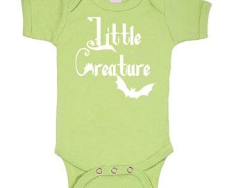 Little Creature / Addams Family bodysuit onesie Geek Baby / 3M/6M