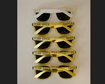 Bridal Party Sunglasses - Bride Tribe - Team Bride - Bridesmaids' Gift