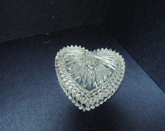 Crystal Heart trinket box from Germany
