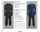 Doctor Who 10th Doctor Suit Sewing Pattern
