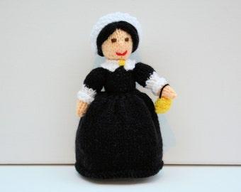 Crochet nurse doll Etsy