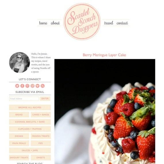 Custom WordPress Blog Design (Responsive)