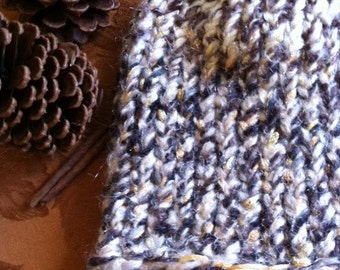 Hand knitted Hat Soft And Warm For Fall And Winter