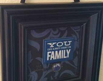 You Can Always Count On Family, Framed Encouragement