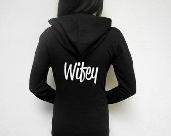 Bride zip up hoodie