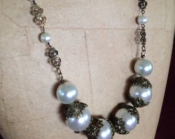 Lacey pearls