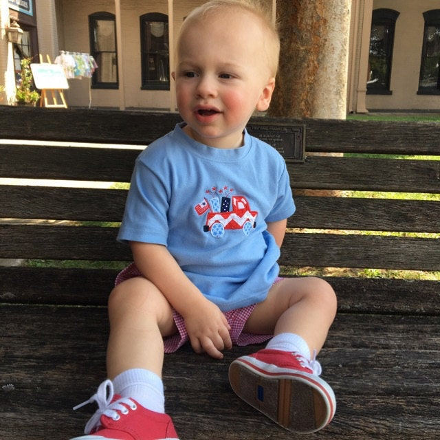 May The Fourth Be With You Baby Clothes: 291830 Baby Boy Clothes Fourth Of July Romper 4th July
