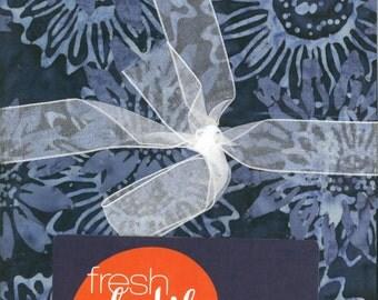 Fresh Batiks Botanica Fat Quarter Bundle - Clothworks (C0137)