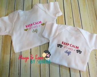 Just a Cleft Baby Bodysuit - Boy or Girl option