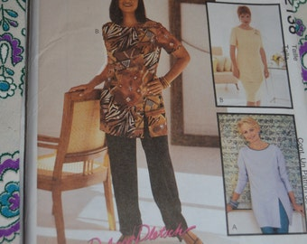 McCalls 2138 Misses Tunic Pants and Skirt Sewing Pattern - UNCUT  Size 10 or Size 16 or Size 18 or  Size 20 or Size 22 or Size 24
