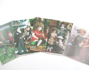 Vintage Dollhouse Greeting Cards by Current