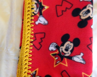 Disney Mickey Mouse Fleece Baby Blanket