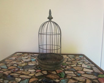 Charming Petite Wire Birdcage