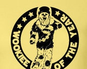 """Roller Derby Retro """"Wookiee of the Year"""" T- Shirt"""