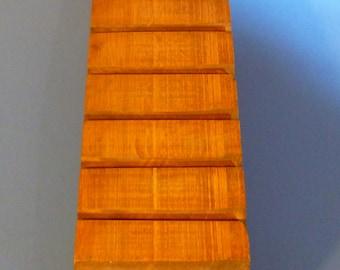 Antique Wood Letter Holder