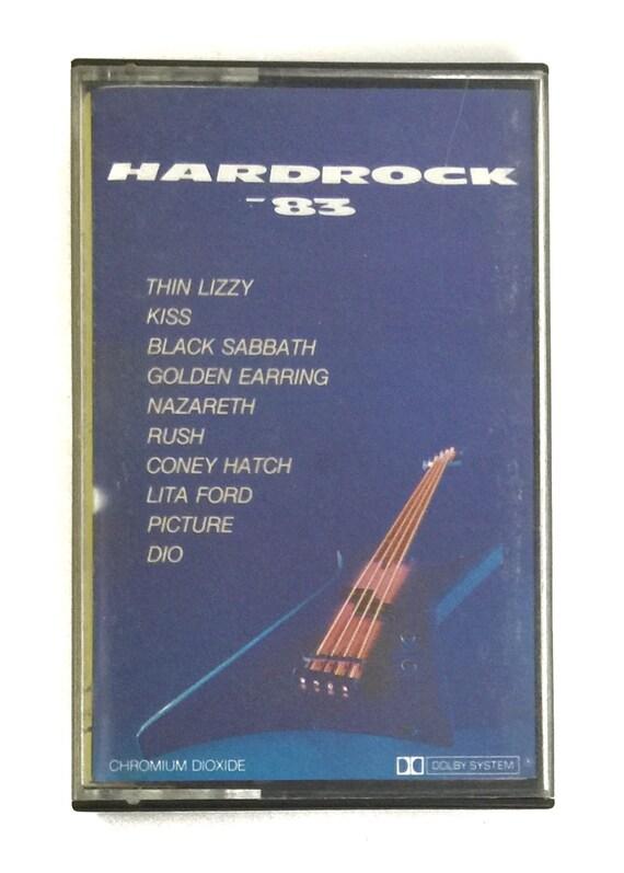 Vintage 80s Hardrock '83 Compilation Import Album Cassette Tape