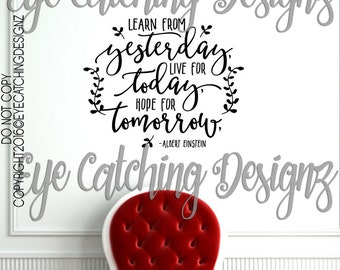 Live For Today Quotes Amusing Live For Today  Etsy