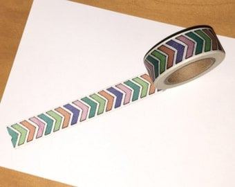 Colorful Arrows Washi Tape WT1003CH
