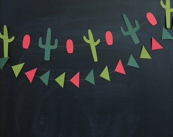 SALE! cactus garland | Christmas | 5 ft