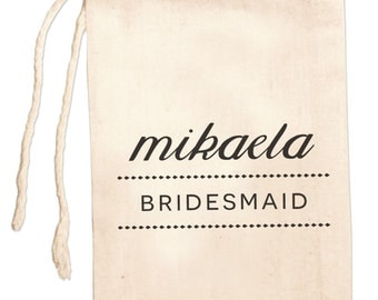 Bridesmaid Favors | Bridesmaid Gift Bag | Custom Bridesmaid Bags | Bridal Party Gift Bags | Maid Of Honor Bags