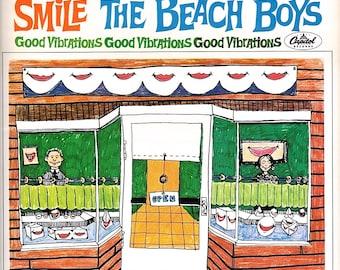 The Beach Boys 'Smile' LP Rare Limited Edition 1978 Prints