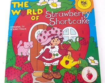 The World of Strawberry Shortcake Kid Stuff KS165 Vinyl LP Record