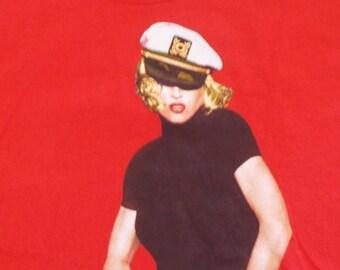 1993 Madonna Girlie Show Concert Tour Vintage T Shirt XL