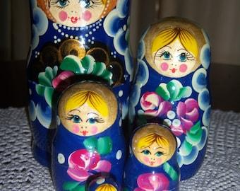 Matryoshka Russian Nesting Dolls (5pc.)