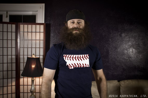 Montana baseball mens tee