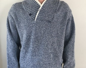 Vintage Campus Pull Over Sweater