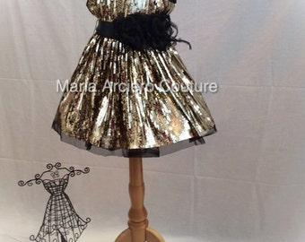 Private listing - Liquidation-baby sequin party dress ,sequins dress