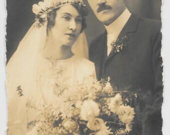 Berta and Alexander Wedding Photo, c. 1910