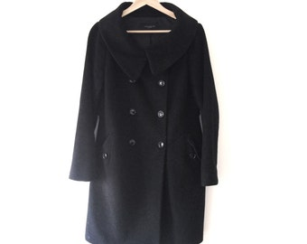 Vintage Back Pea Coat
