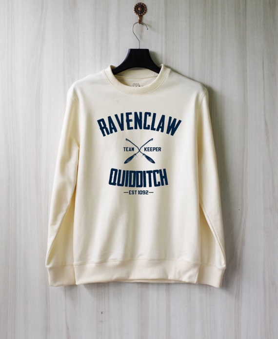 ravenclaw quidditch harry potter shirt sweatshirt sweater. Black Bedroom Furniture Sets. Home Design Ideas