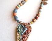 Love, Autumn Necklace