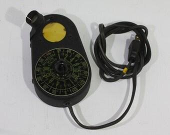 Vintage Haynes MCM Photometer Darkroom Light Meter