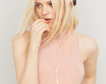 Rose Gold Cat Headphones