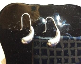 Mexican Silver Drop Earrings