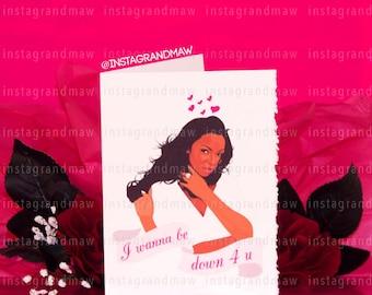 Ashanti Valentine's Day Card