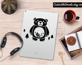 Cute Bear Decal -- Laptop Sticker, Macbook Decal Sticker, Animal Decal, Car Decal, Wall Decal, Tumbler Decal, Cute Decal