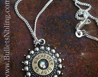 Star Burst Bullet Casing Necklace